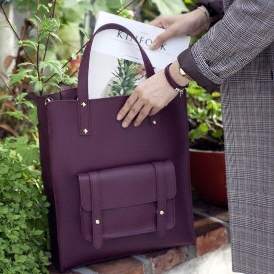 Nieuwe Mode Draagtas Office Lady Werk Lederen Handtassen Grote Hand Tassen Voor Vrouwen 2019 Vrouwelijke City Tassen Shopper Crossbody vrouwelijke
