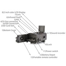 Hunting Camera Upgraded Version HC-550A 5MP Color
