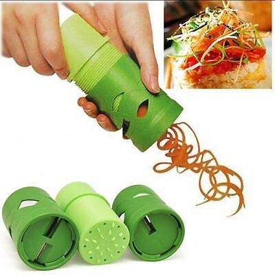 Multifunctional Fruit & Vegetable Tools Rotary Slicers & Shredders Cooking Tools ABS + Stainless Steel Random Color