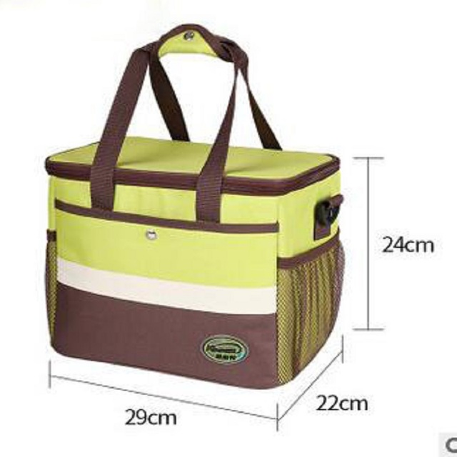 Thickening insulation preservation large capacity picnic rucksack Outdoor waterproof Oxford cloth picnic backpack