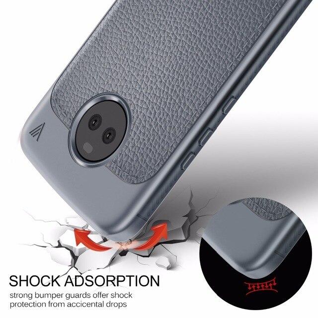 Lenuo sFor MOTO X4 Case Soft TPU Silicone Back Cover Phone Case For Motorola MOTO X4