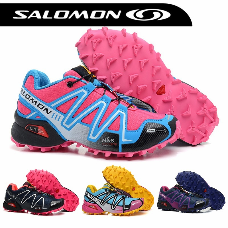 Salomon Speed Cross 3 CS Breathable Sneakers zapatillas deportivas solomon  Running Athletic Sport Outdoor Women Fencing 0e5e4cd40e98