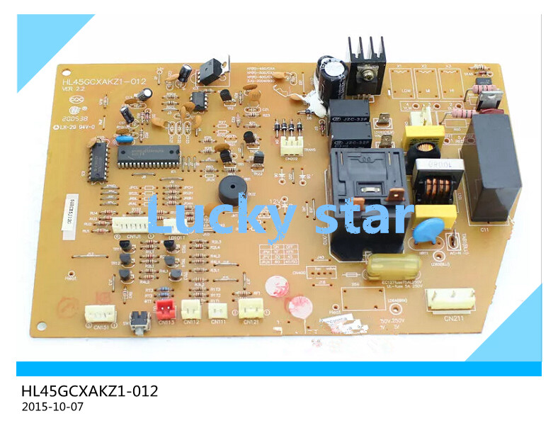 95% new for Air conditioning computer board circuit board HL45GCXAKZ1-012 board good working original good working for tcl air conditioning computer board used circuit board tcl32ggft808 kz