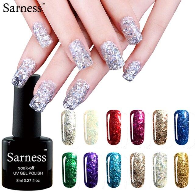 Sarness 20 Colors For Nail Art Decoration Diy Manicure Design 3d