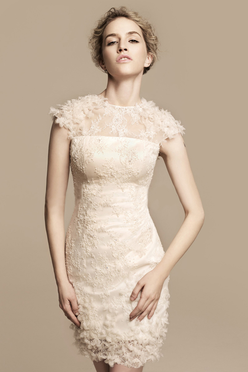 Short lace sleeves wedding dress short destination wedding gowns short lace sleeves wedding dress short destination wedding gowns 2017 in wedding dresses from weddings events on aliexpress alibaba group junglespirit Choice Image
