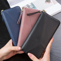 Geometric Wristband Women Wallet Female Long Zipper Women Purse Large Capacity Coin Wallet Purse Brand New
