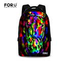 Fashion Children School Bag Boys 3D Printing Owl School Bags Cool Kids Schoolbag Men Shoulder Bookbags Mochila infantil