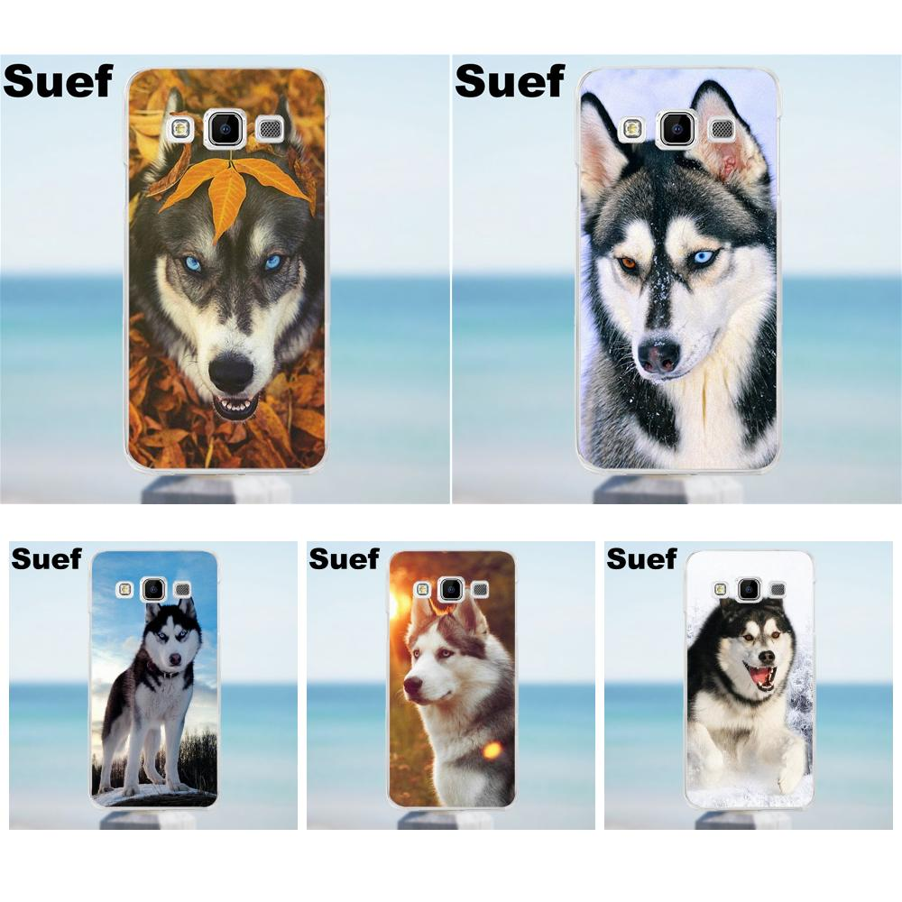 Suef Lovely Dog <font><b>Siberian</b></font> <font><b>Husky</b></font> Soft TPU Phone Case For Galaxy Alpha Core Prime Note 2 3 4 5 S3 S4 S5 S6 S7 S8 mini edge Plus image