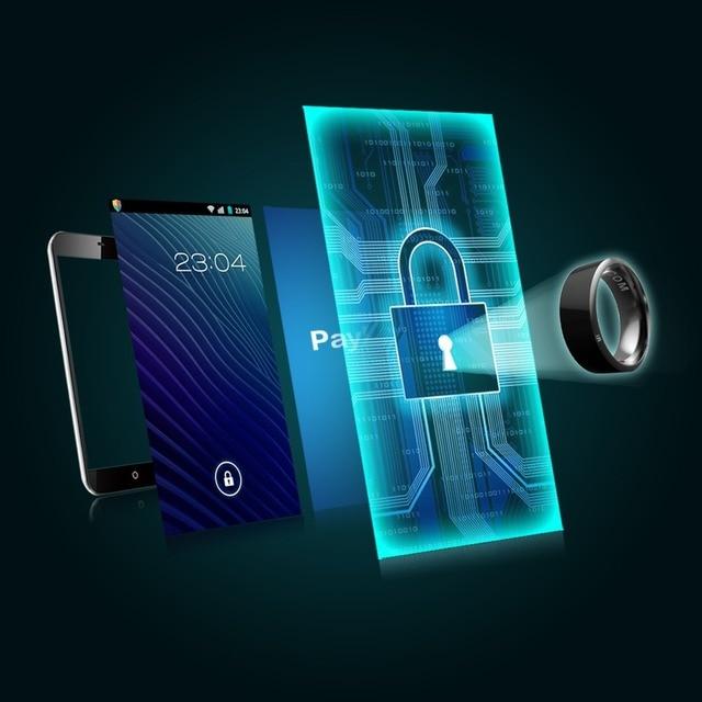 New Smart Ring NFC Wear Jakcom R3 New technology Magic Finger Smart NFC Ring For Android Windows NFC Mobile Phone 3