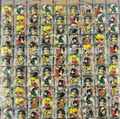 New  108pcs/set Cartoon Japanese Anime Naruto Badge Button Pins Party Gifts Diameter 2.5 cm  Free Shipping Z-32