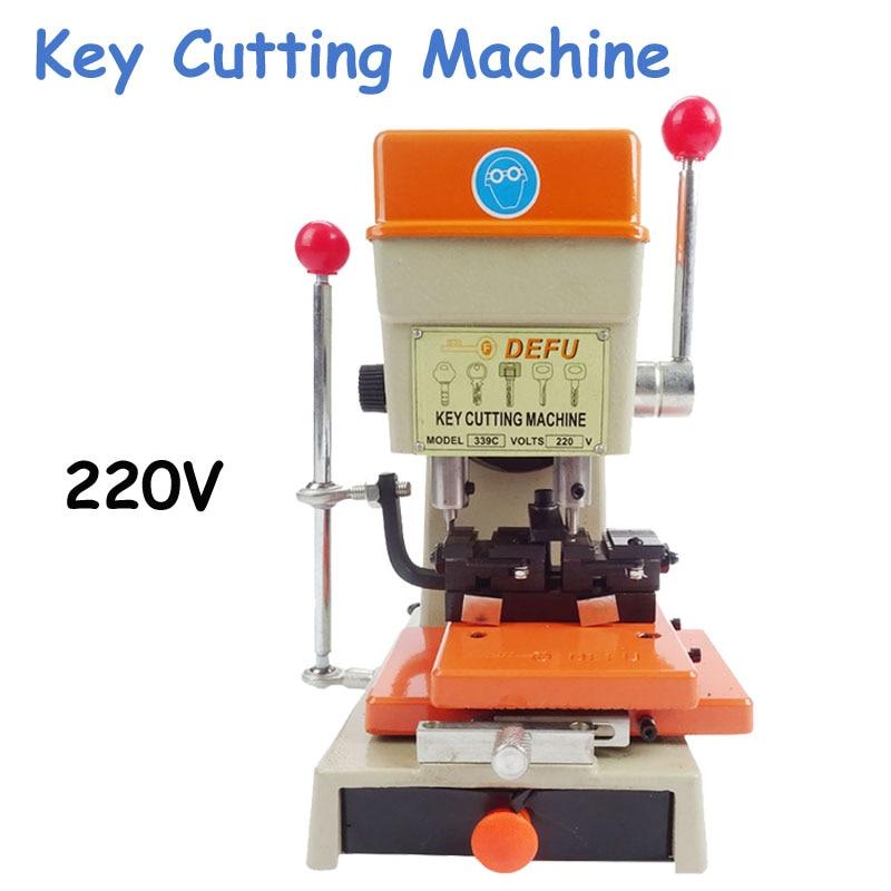 339C Key Duplicating Machine Key Cutting Machine Locksmith Tools Car Keys Copy Machine все цены