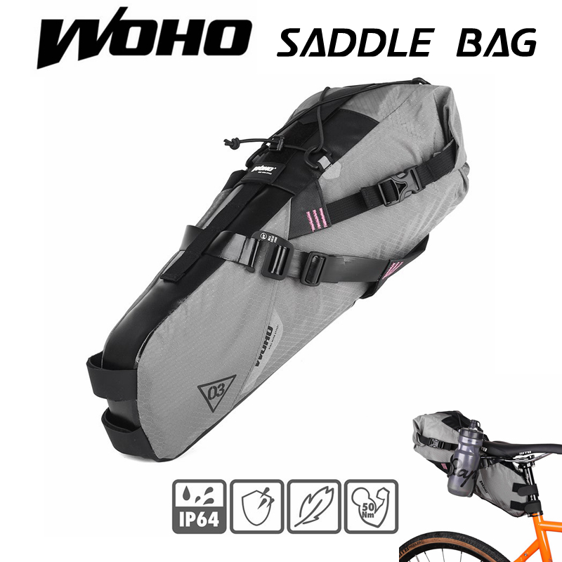 WOHO XTOURING ULTRALIGHT SADDLE BAG DRY S M Cycling Bicycle Bag for MTB ROAD
