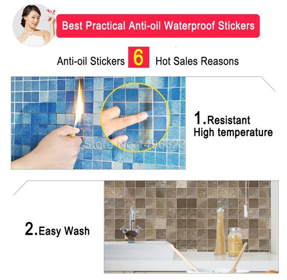 5M PVC αυτοκόλλητο τοίχου Μπάνιο - Διακόσμηση σπιτιού - Φωτογραφία 3