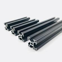 Prusa i3 MK3 черный анодированный алюминиевый комплект для экструзии 3030 профилей