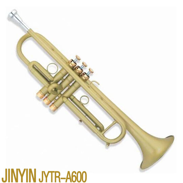 Cheap Brand new JYTR-A600 trumpet EVA heavier type of professional Western wind musical instruments,trompete,trumpets, Free Shipping