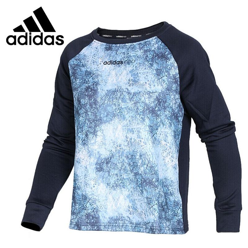 Original New Arrival 2017 Adidas NEO Label W STD AOP SWT Womens Pullover Jerseys Sportswear