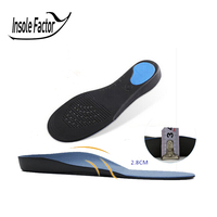 35 To 48 High Quality 3D Premium Comfortable Plush Cloth Orthotic Insoles Flat Feet Arch Support