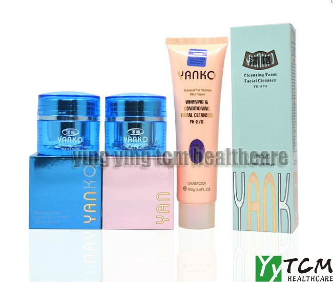 wholesale Yanko Skin Care whitening day cream+night cream+cleanser fourth generation yanko whitening day cream remove spot freckle 15g pcs fifth generation whitening cream for face
