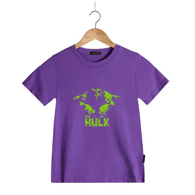 Hot Marvel Hulk T-shirt pour Enfants Enfants Garçons et filles de bande dessinée imprimé à manches courtes t t-shirt de Super Héros Hulk T chemise