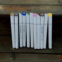 Six Generations 30 40 Color Student Art Suit Double Alcohol Oily Mark Pen PP Environmental Protection