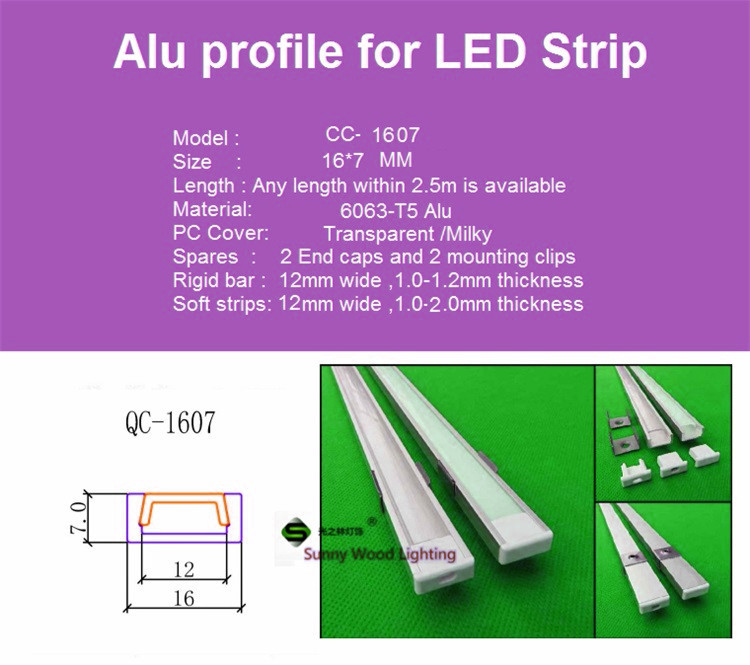 High Quality led aluminium