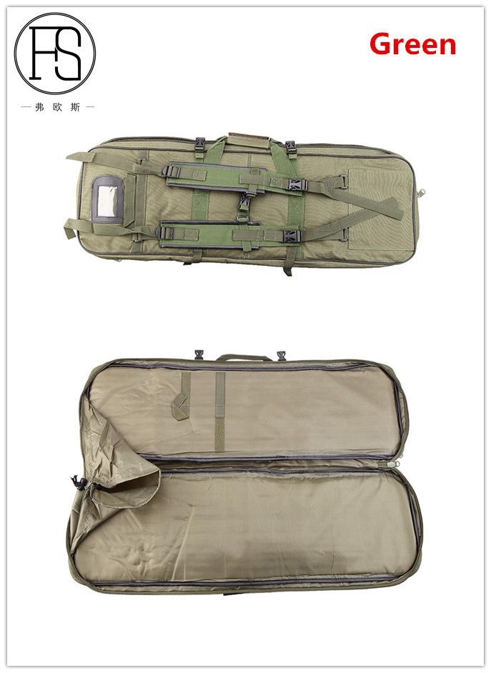 Image 5 - Outdoor Military Hunting Bag Nylon 81CM Tactical Shooting Bag Square Carry Gun Bag Hand Gun Accessory Protection Case Backpack-in Holsters from Sports & Entertainment