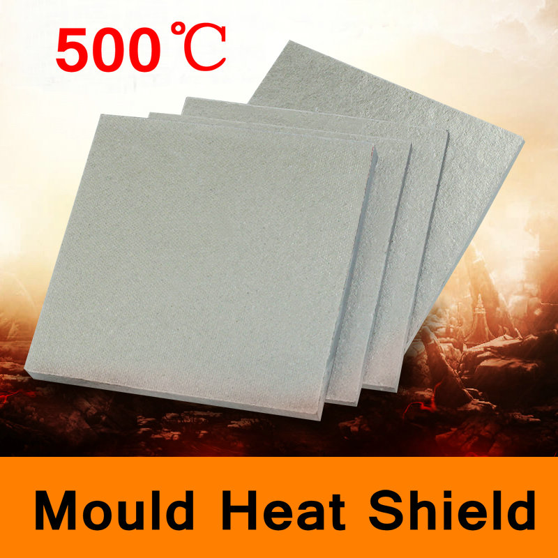 500 Degree Centigrade Mold Mould Heat Shield Glass Fibre Sheet High-temperature Plate Insulating Base Board All Size in Stock