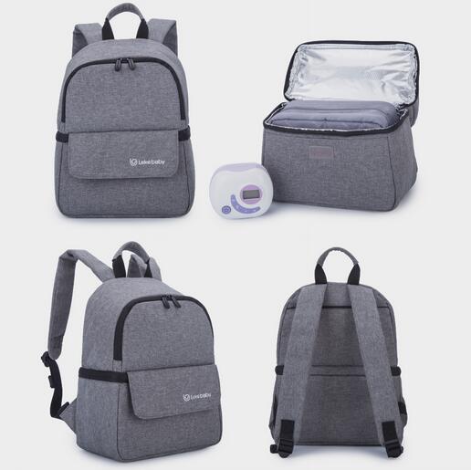 Breast Milk Storage for Baby Food Multifunction Insulated Cooler Bag Fresh-keeping Waterproof Large Diaper Bag