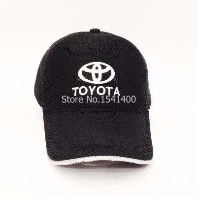 Prix pour Nouveau arrivé 6 couleurs blanc toyota Souvenir Caps toyota casquette de baseball maille style course chapeau
