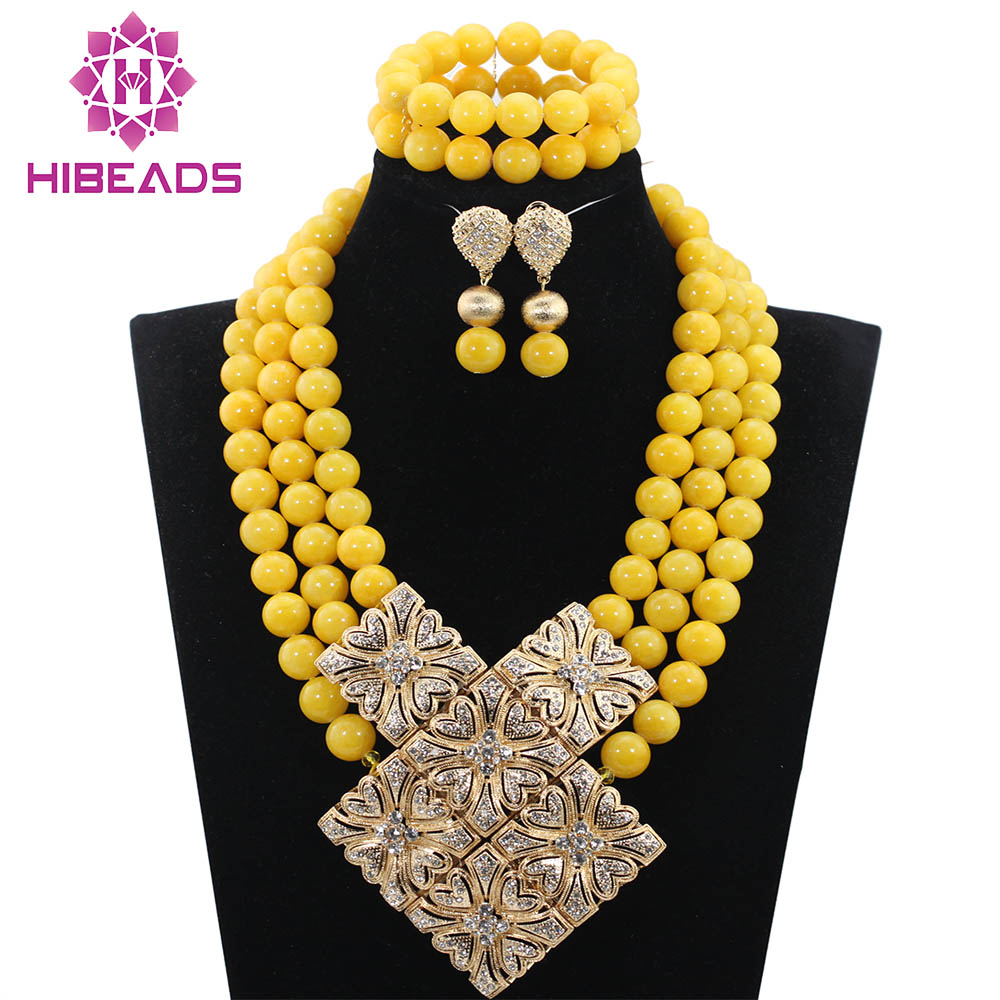 Unique Design African Coral Beads Jewelry Set Nigerian