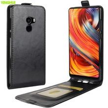 Сумка для телефона для Xiaomi mi Mix 2 Чехол mi x 2 роскошный кожаный Вертикальный флип-бумажник чехол для телефона xaomi xiomi mi x2