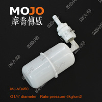 MJ-V0450 electrical water level control float ball high chemical resistance water tank float ball valve Float Valve
