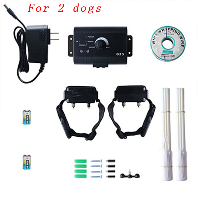 023 Safety Pet Dog Electric Fence With Waterproof Dog Electronic Training Collar Invisible Electric Dog Fence Containment System11