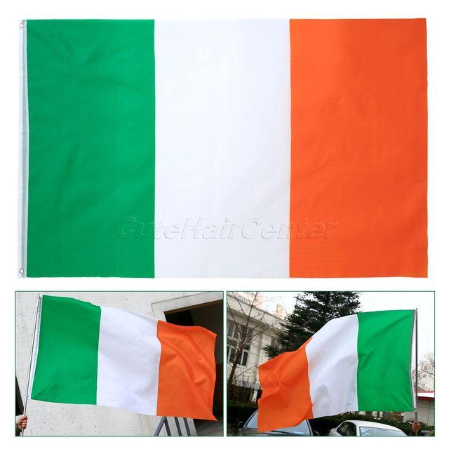 Ireland National Flag Irish Flag 3x5 Feet Polyester Flag 90x150cm ...