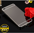 For xiaomi mi5 m5 Ultra thin Aluminum Metal + Mirror Plastic Battery Back Cover Case For xiaomi mi5 m5  Phone bags
