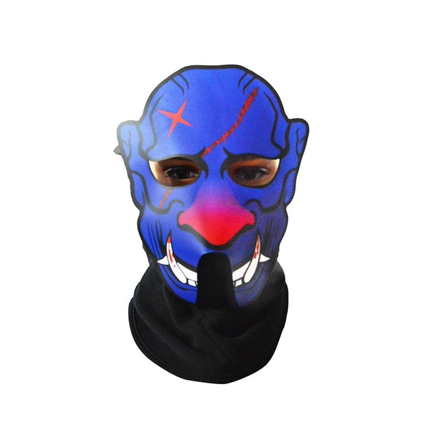 Sound Reactive LED Party Mask