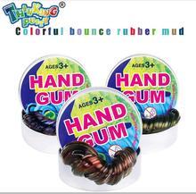 NIEUW Thinking Putty DIY Discoloration Plasticine Creative Starry Hand Gum Kleurrijke playdough Lichte boetseerklei Fimo Toys Kid