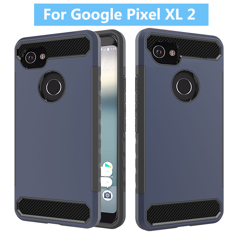 For Google Pixel XL 2 Hybrid Combo Heavy Duty Armor TPU PC Shockproof Case Cover For Google Pixel XL 2 Cell Phone Case