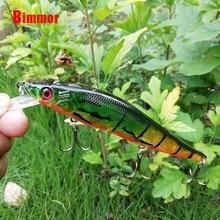 B 1PCS Floating Minnow Fishing Lure Laser Hard Artificial Bait 14cm 23 5g Pesca Wobbler Crankbait