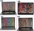Pro 88 Цвета Матовые Тени Для Век Палитра Fashion Eye Shadow Set с Зеркалом тени для век блеск теней для век палитры макияжа