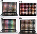 Pro 88 Cores Matte Eyeshadow Palette Moda Sombra Definido com Espelho sombra glitter sombra de olho paleta de maquiagem