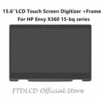 FTDLCD 15.6'' 1080P LCD TouchScreen Digitizer Assembly+Frame LP156WF9 SPL1 For HP Envy X360 15 bq serie bq102ng bq075nr bq100nl