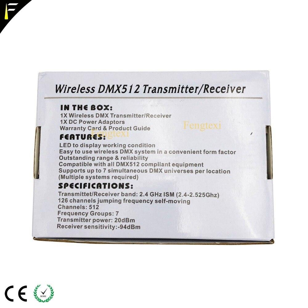 Wireless DMX Transmitter & Receiver DMX512 20