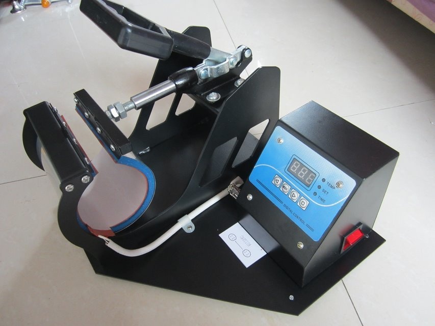 1 Set Portable Digital Mug Heat Press Machine Cup Heat Press DIY Creative Tool 220V 110V wc67y 160ton press brake machine tool
