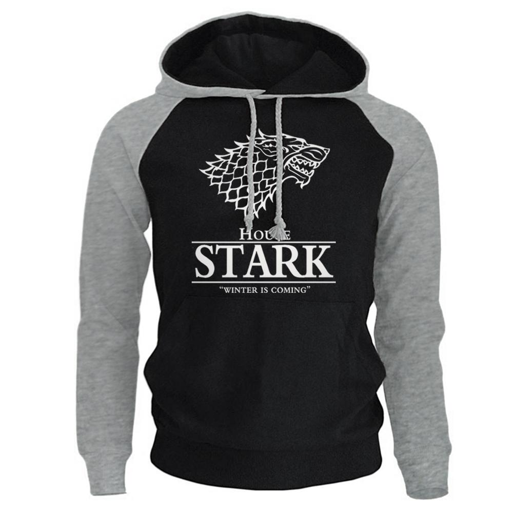House Stark Winter Is Coming Men's Sportswear Sweatshirt 2