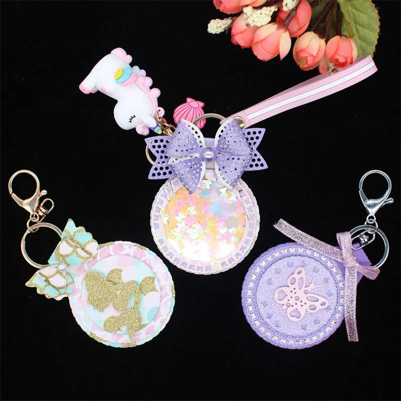KSCRAFT Key Chain Metal Cutting Dies for DIY Scrapbooking Stamp/photo album Decorative Embossing DIY Paper Cards