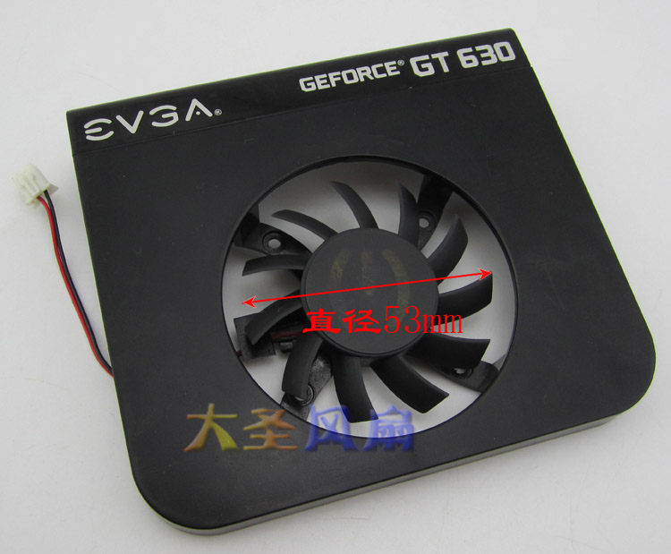 New Original for EVGA GeForce <font><b>GT630</b></font> Graphics card cooling <font><b>fan</b></font> Pitch 34x34MM image