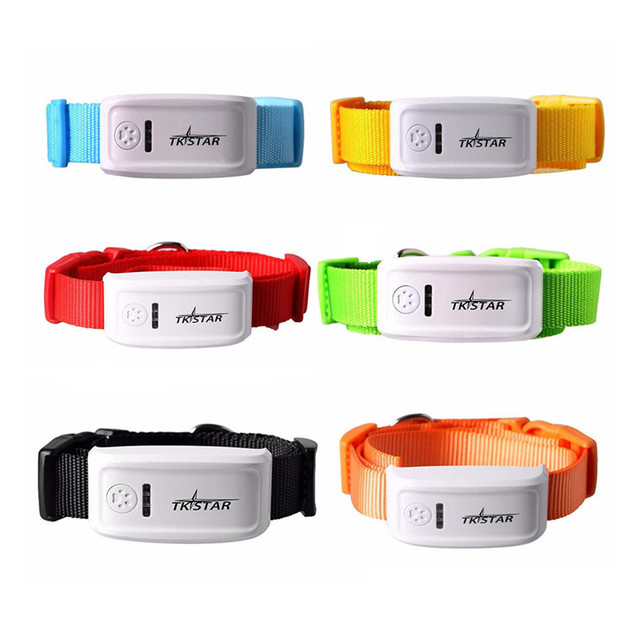 TK909 Global Locator Real Time Pet Dog Cat GPS Tracker For Pets Dogs Cats GPS Collar Tracking Free Platform IPX6