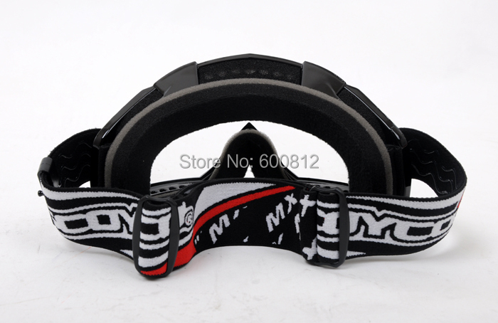Scoyco G02 Спорт на открытом воздухе внедорожные мотоциклетные очки беговые мотоциклетные защитные очки черный белый цвет PC