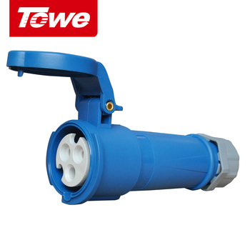 цена на Towe Industrial Connector IPS-S316  16A  3 Pins  2P+E  Female   IP44